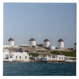Greece, Cyclades Islands, Mykonos, Mykonos Town, Ceramic Tile