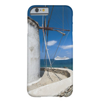 Greece, Cyclades Islands, Mykonos, Old windmill Barely There iPhone 6 Case