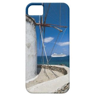 Greece, Cyclades Islands, Mykonos, Old windmill iPhone SE/5/5s Case