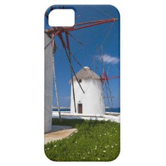 Greece, Cyclades Islands, Mykonos, Old windmills 2 iPhone SE/5/5s Case