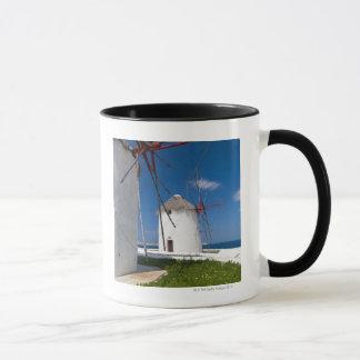 Greece, Cyclades Islands, Mykonos, Old windmills 2 Mug