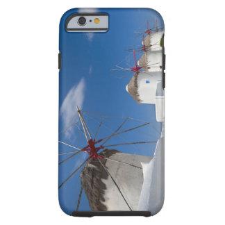 Greece, Cyclades Islands, Mykonos, Old windmills Tough iPhone 6 Case