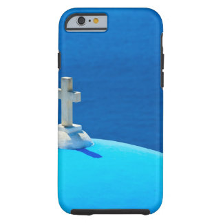 Greece, Cyclades Islands, Santorini, Oia, Church Tough iPhone 6 Case