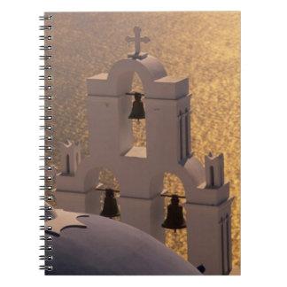 Greece, Cyclades Islands, Santorini, Thira, Notebook