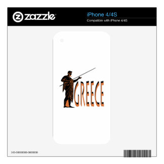 Greece Decals For The iPhone 4S