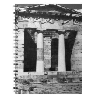 Greece Delphi Athenian Treasury 1970 Notebook