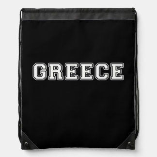 Greece Drawstring Backpack