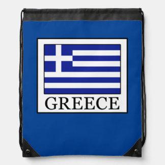 Greece Drawstring Bag