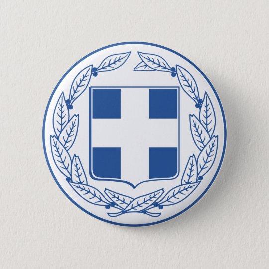 greece emblem button
