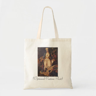 Greece Expiring on the Ruins of Missolongh Tote Bag