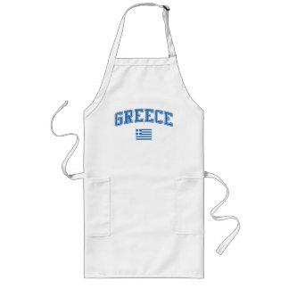 Greece + Flag Apron