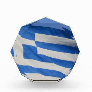 Greece Flag Acrylic Award