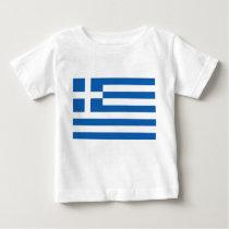 Greece Flag Baby T-Shirt
