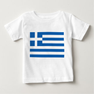 Greece Flag Baby T-Shirt