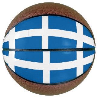 Greece Flag Basketball