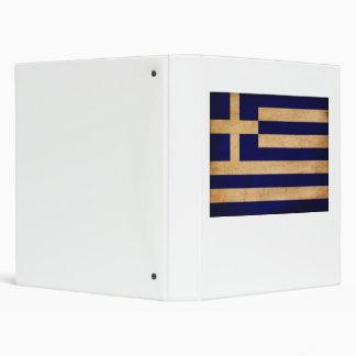 Greece Flag Binder