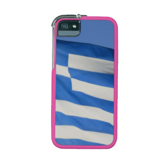 Greece Flag Cover For iPhone 5/5S