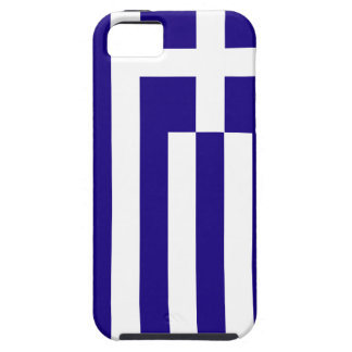 Greece Flag iPhone 5 Case