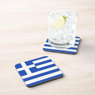Greece Flag Coaster