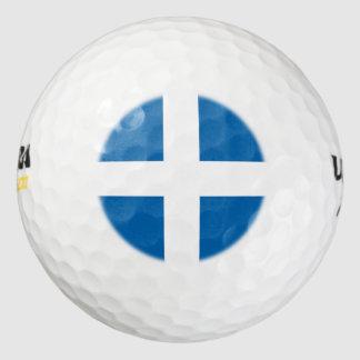 Greece Flag Golf Balls
