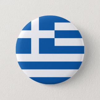 Greece Flag GR Pinback Button