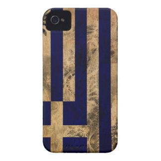 Greece Flag iPhone 4 Case-Mate Case