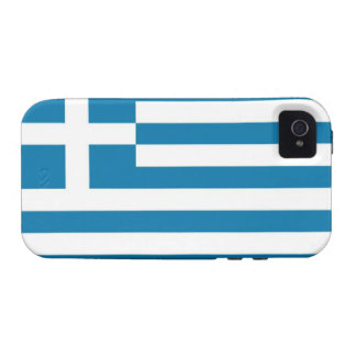Greece Flag iPhone 4 Covers