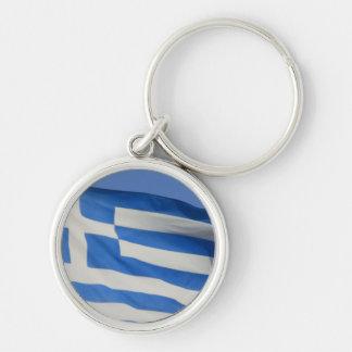 Greece Flag Key Chain