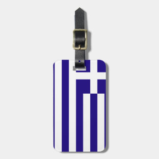Greece Flag Tags For Bags