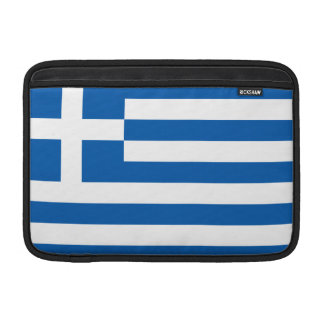 Greece Flag MacBook Air Sleeves