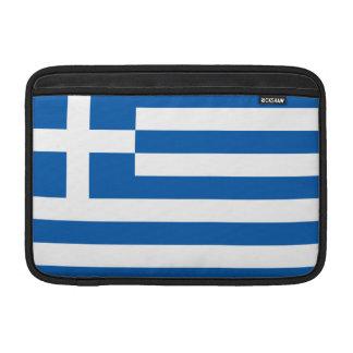 Greece Flag MacBook Sleeve