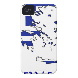 GREECE FLAG MAP iPhone 4 COVER