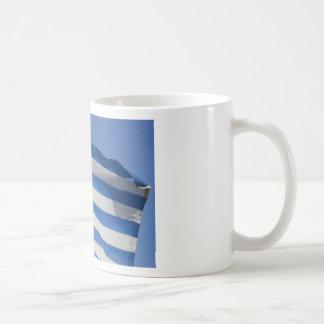 Greece Flag Classic White Coffee Mug