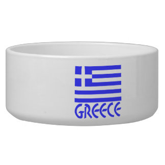 Greece Flag & Name Bowl