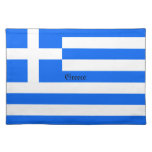Greece: Flag of Greece Placemats