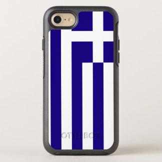 Greece Flag OtterBox Symmetry iPhone 7 Case