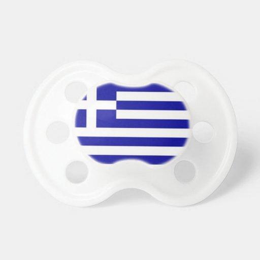 Greece Flag Pacifier
