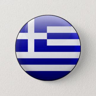 Greece Flag Pinback Button