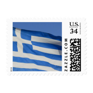 Greece Flag Stamps
