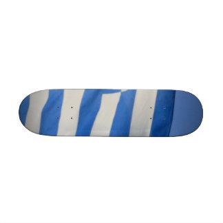 Greece Flag Skate Deck