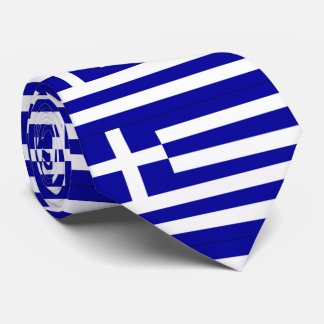 Greece Flag Tie