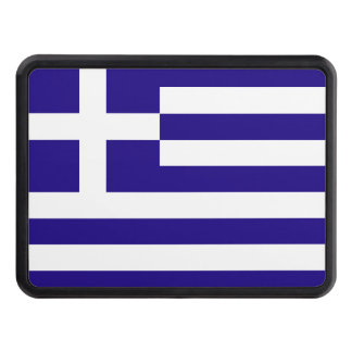 Greece Flag Trailer Hitch Covers