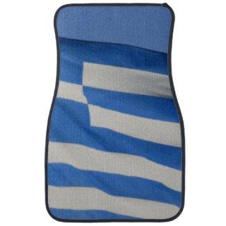 Greece Flag Car Mat