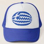 Greece Gnarly Flag Hat