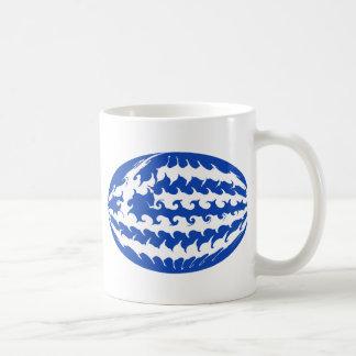 Greece Gnarly Flag Mug