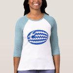 Gnarly Greek Flag T-Shirt