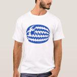 Greece Gnarly Flag T-Shirt