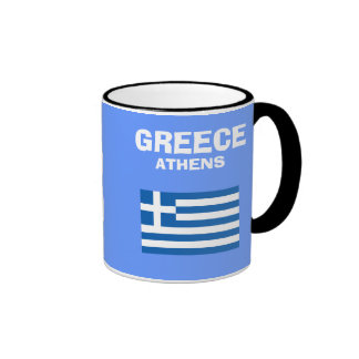 Greece* GR Country Code Mug