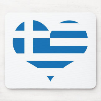Greece Greek flag Mouse Pad