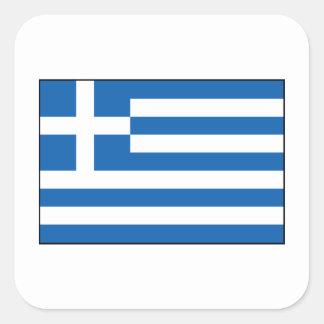 Greece – Greek Flag Square Sticker